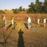 hatha jóga óra Somogy megyében ismétlődő nyári jógatábor Kisberényben
