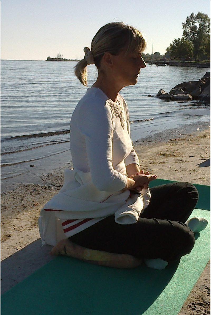 meditáció Fonyódon a Balatonnál, jóga oktató