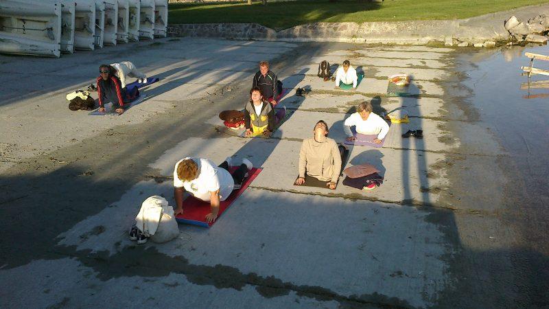 Balatoni jóga foglalkozás Fonyódon, rendszeres jóga nyári tábor