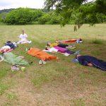 szabadtéri jóga relaxáció a természetben Kisberényben