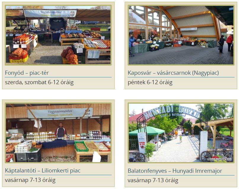 Kisberényi piacnapok