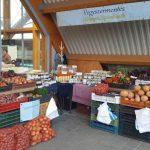 Kaposvári piac: mindenféle zöldség, lekvár, tojás és más készítmény